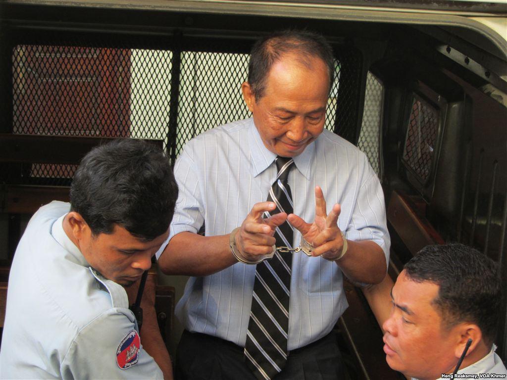 Mam Sonando (Heng Reaksmey, VOA Khmer)
