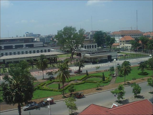 L'ambassade américaine à Phnom Penh (Crédit photo: Melissa Gira under creative commons licence)