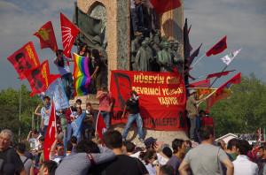 Taksim Square - Gezi Park Protests, İstanbul (Credit photo: Alan Hilditch)