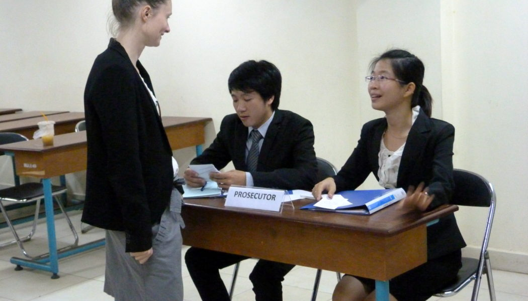 Destination Justice's Coaching Provides Cambodian Students with Good Opportunities