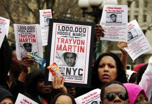 Trayvon Martin Protest 2012 (Credit: Commons/ Shankbone)