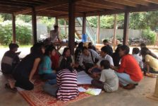 Ratanakiri: Training students in human rights and exploring nature