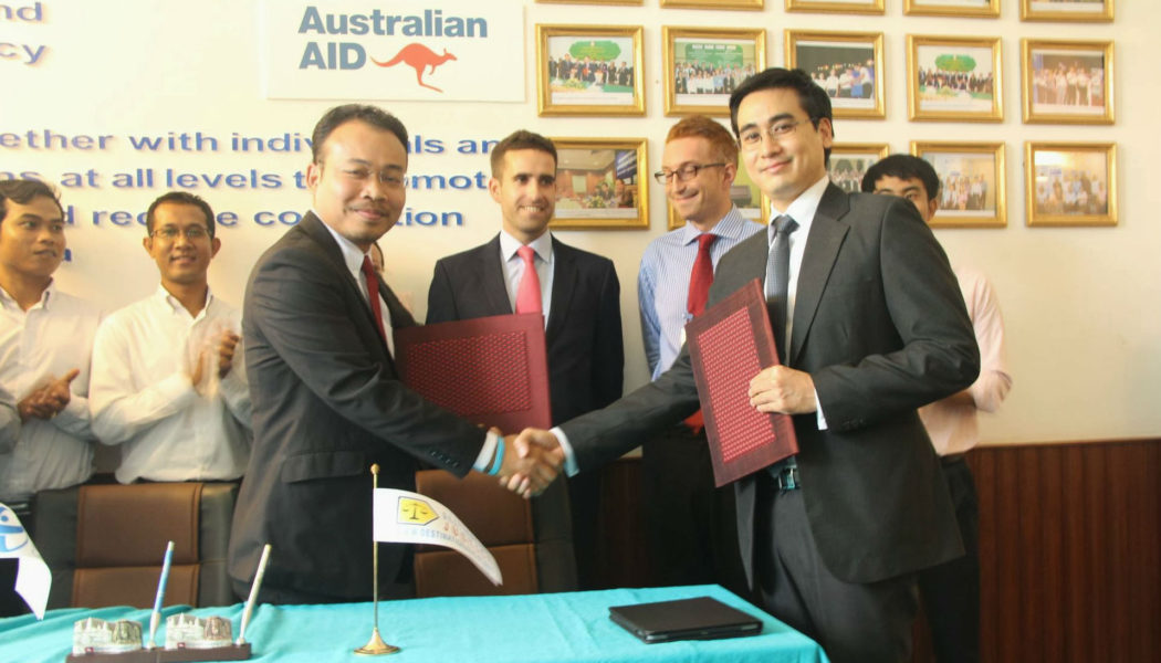 Destination Justice signs an MoU with Transparency International Cambodia