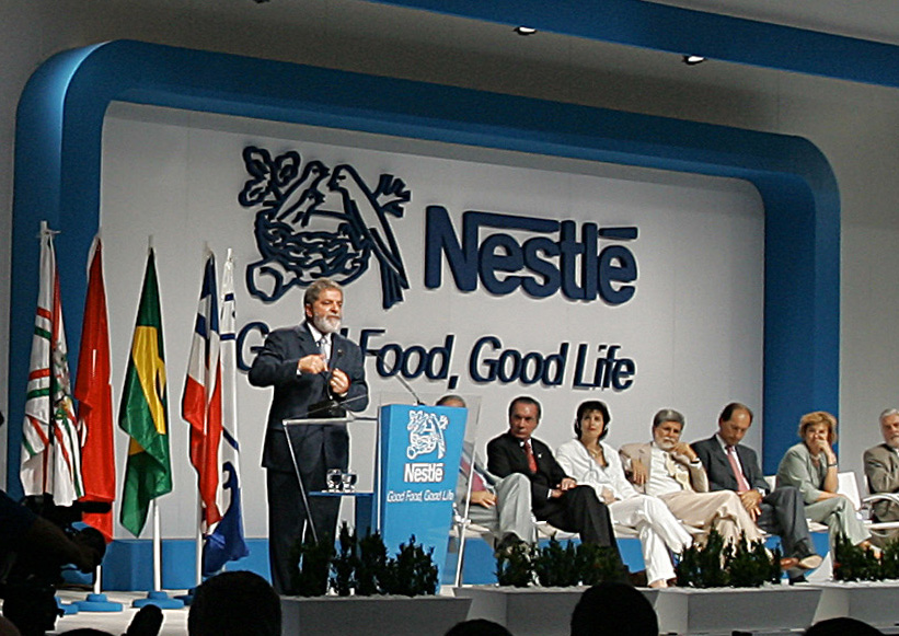Nestle launched their human rights white paper in October 2013.
