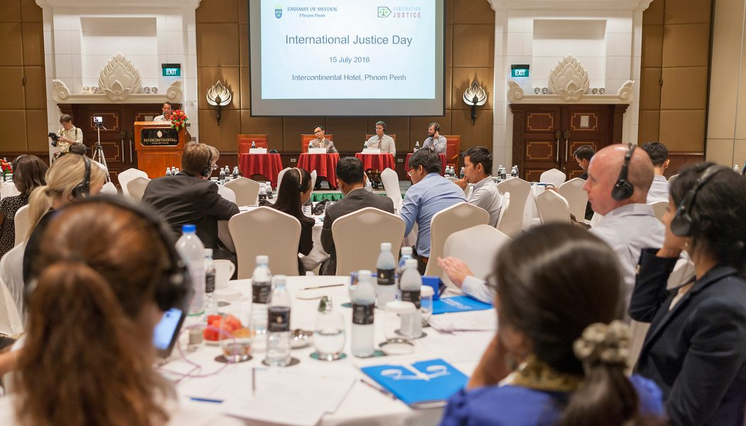 Destination Justice and Transparency international celebrate World Day for International Justice with Justice Matters Conference