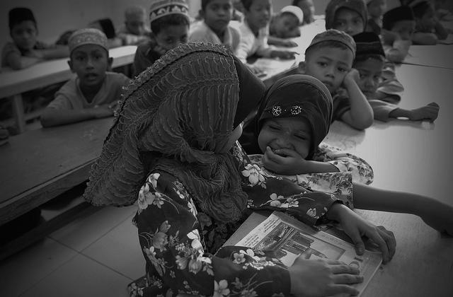 ROHINGYA: Hashimiah Orphans Madrasah at Pasar borong Selayang, by Firdaus Latif, on Flickr.
