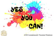 The Changemakers Training Program is back!