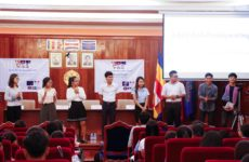 "Young Cambodians make their voices heard on ""Justice and Corruption"" in the country"