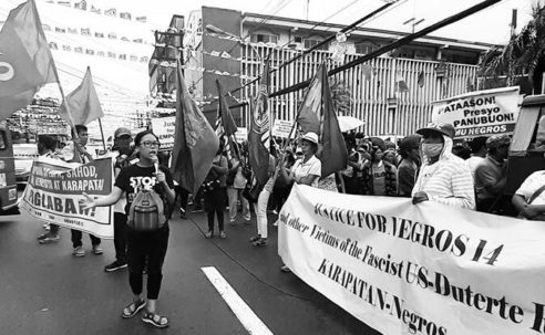 Destination Justice is saddened to learn about the murder of Philippina Woman Rights Defender Zara Alvarez.