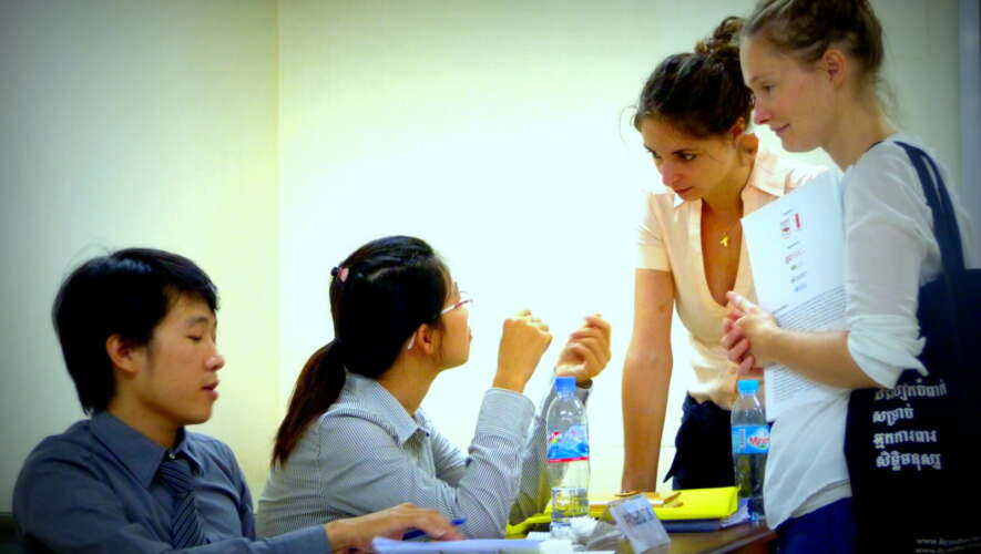 First Participation of International Relations students in Moot Court Competition in Cambodia
