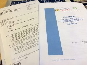 Destination Justice and Open Dialog Foundation Report on freedom of expression in Kazakhstan